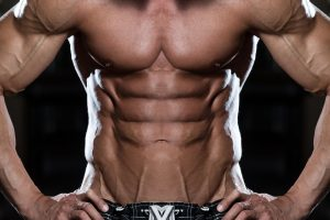 40021414 - close up of a perfect abs