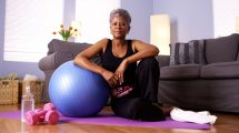 maintaining fitness when older